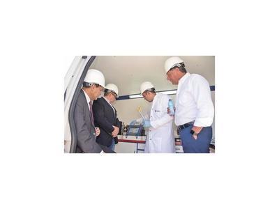 MIC ya tiene equipo  móvil  para control de combustibles