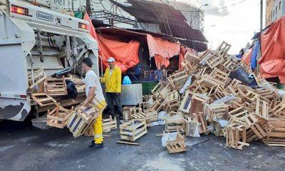 200 toneladas de basura recogidas en los últimos 3 días