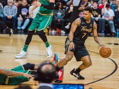 Brown y los Celtics se exhiben ante unos diezmados Raptors