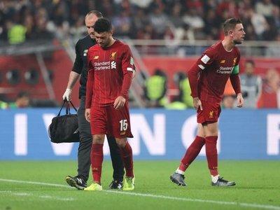 Chamberlain baja en el Liverpool hasta el próximo año