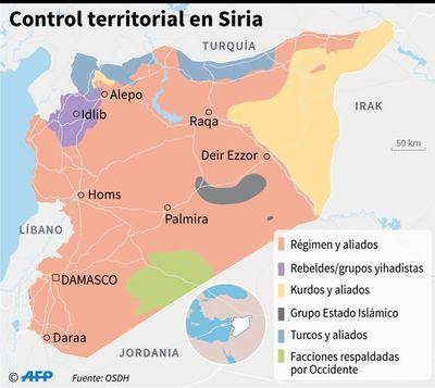 Ejército sirio avanza en zona rebelde, y Rusia y Turquía negocian tregua