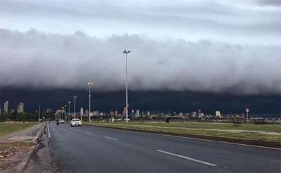 Alerta de tormentas y lluvias para la región oriental según Meteorología
