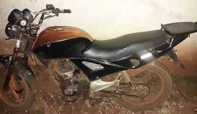 Abandonan motocicleta en Franco