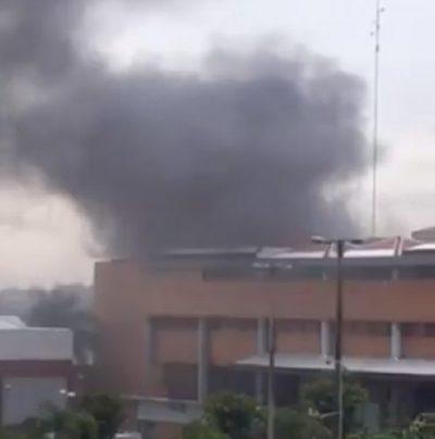 Controlan incendio en planta de Inca