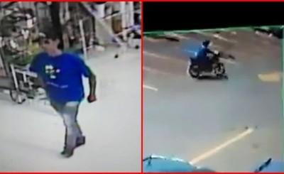 Hurtan biciclo de estacionamiento de supermercado