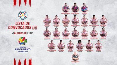La lista final para el Preolímpico de Colombia