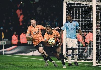 Wolverhampton y una remontada épica al Manchester City