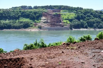 Sostenido avance registran obras del Puente de la Integración en Presidente Franco