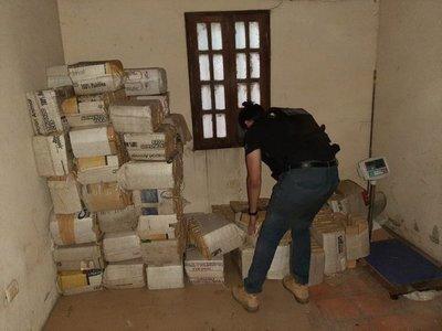 Incautan más de 1 tonelada de marihuana en José Falcón