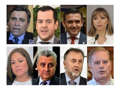 Abdo se rodea de secretarios muy   resistidos que aceleran mala imagen