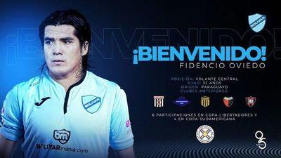 Fidencio Oviedo se va a Bolivia