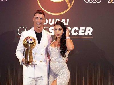 Cristiano gana por sexta vez el premio Globe Soccer a mejor jugador