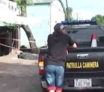 Bus atropella y mata a peatón en San Lorenzo
