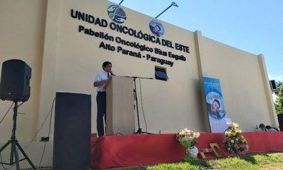 Habilitan Pabellón Oncológico en el Hospital Regional de CDE