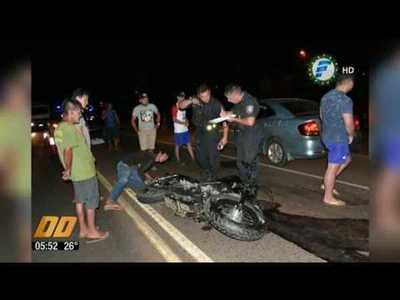 Choque de motos deja 3 muertos en Caaguazú