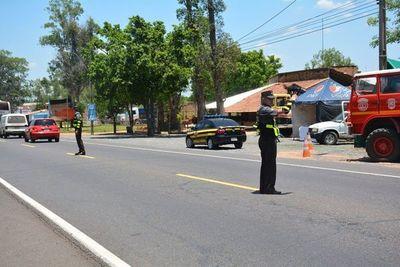 """Caminera anuncia patrullaje en motocicleta para el operativo """"Verano 2020"""""""