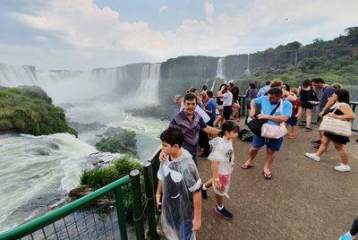 Visita récord a Cataratas del Yguazú