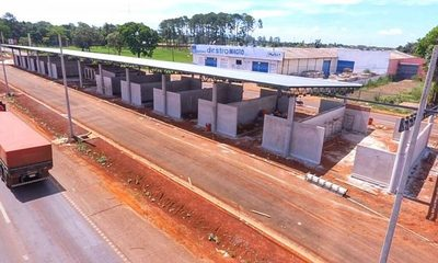 Progresiva construcción de terminal interurbana en CDE