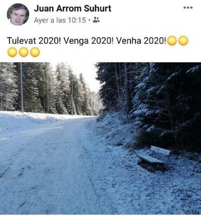 Así espera Arrom al 2020 desde Finlandia