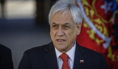 """Piñera dice que 2019 """"dejó heridas en el cuerpo y el alma de Chile"""""""