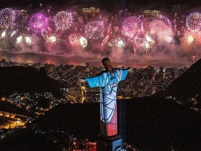 Río recibió el 2020 con nuevo récord de asistencia en fiesta de fin de año