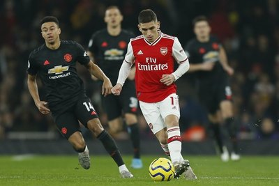 Arsenal doblegó al Manchester United