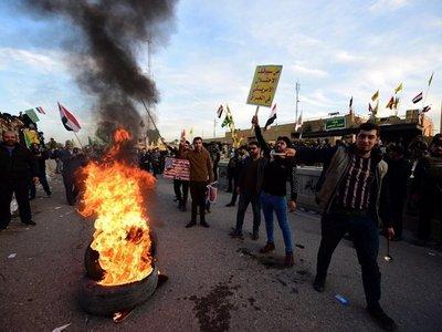 Embajada de EEUU en Bagdad suspende actividades tras ataque