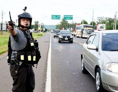 No hubo incidentes graves en rutas, afirman desde Patrulla Caminera