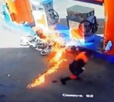Apagá tu motor cuando cargás combustible