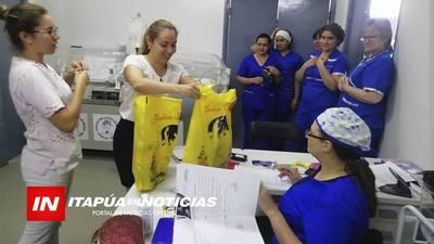 REPARTIERON REGALOS EN HOSPITAL REGIONAL Y OTROS CENTROS DE ASISTENCIA