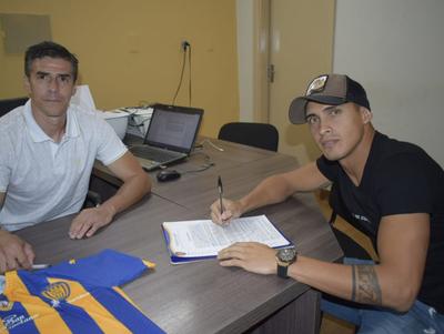 Sportivo Luqueño le da la bienvenida a Orlando Gaona Lugo