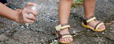 Repelentes pueden causar alergia en niños