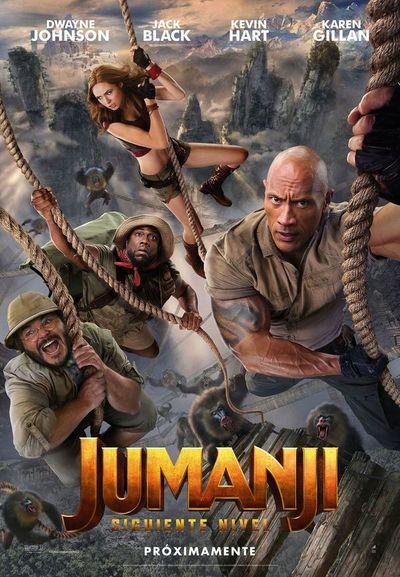 Jumanji: El siguiente nivel (3D y 2D)