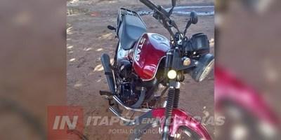 HURTAN MOTOCICLETA DEL PRESIDENTE DE BOMBEROS DE TOMÁS R. PEREIRA.