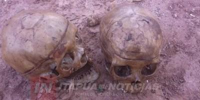 HALLAN 2 CRÁNEOS HUMANOS EN EL VERTEDERO DE CNEL. BOGADO