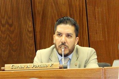 El imputado Carlos Portillo debe firmar ley de blindaje para enviar al Ejecutivo
