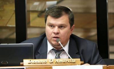 Dionisio Amarilla solicitó la perdida de investidura de Patrick Kemper
