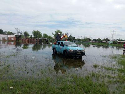 Nivel crítico del río se mantiene