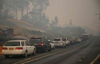 Australia ordena la evacuación por ola de calor