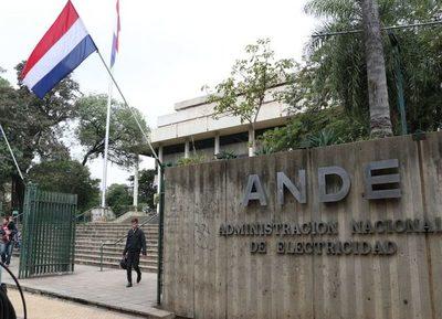Senado aprueba reducción de la tarifa de la Ande