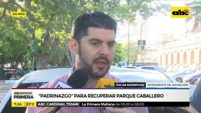 """Padrinazgo"" para recuperar Parque Caballero"