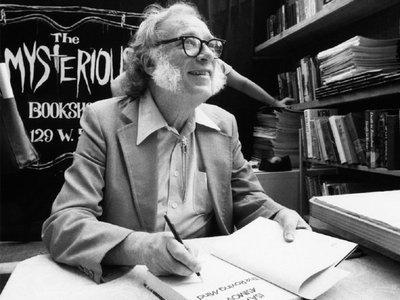 Recuerdan al visionario Isaac Asimov en su centenario de nacimiento