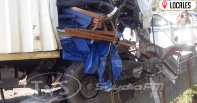 Accidente de tránsito dejó cuantiosos daños materiales en Pirapo