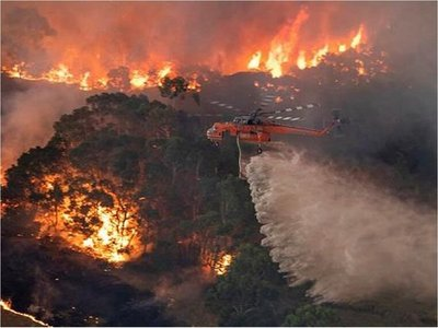Dos muertos más por los incendios en el sur de Australia