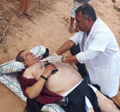 Empresario esteño se accidenta en Caaguazú
