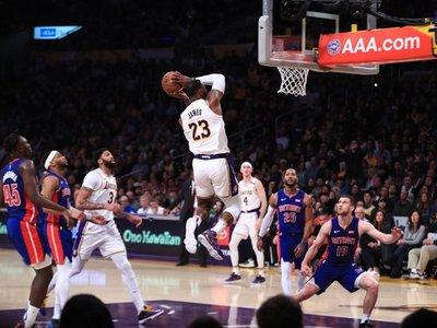 LeBron James, triple-doble
