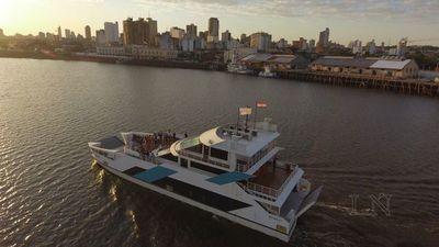 Ferry del Chaco operaría sábados tras éxito de primeros viajes