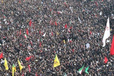 Marea humana en Teherán para rendir homenaje al general Soleimani
