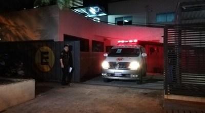 CNEL. OVIEDO: MADRE E HIJO GRAVES TRAS EXPLOTAR BALA DE MORTERO