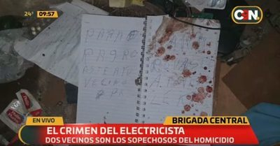 Hermanos asesinaron a electricista por venganza, sospechan